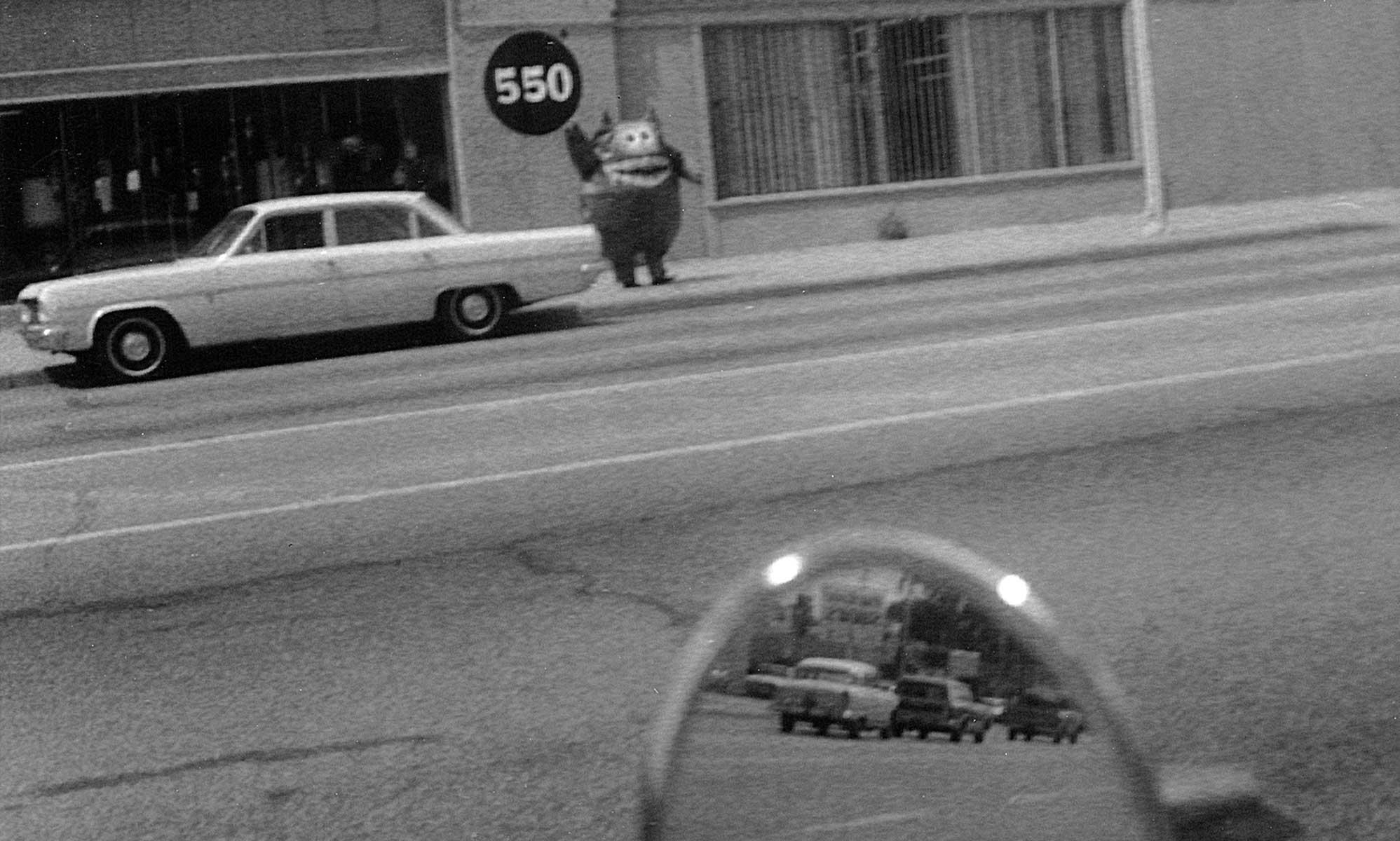 Nauga on the street