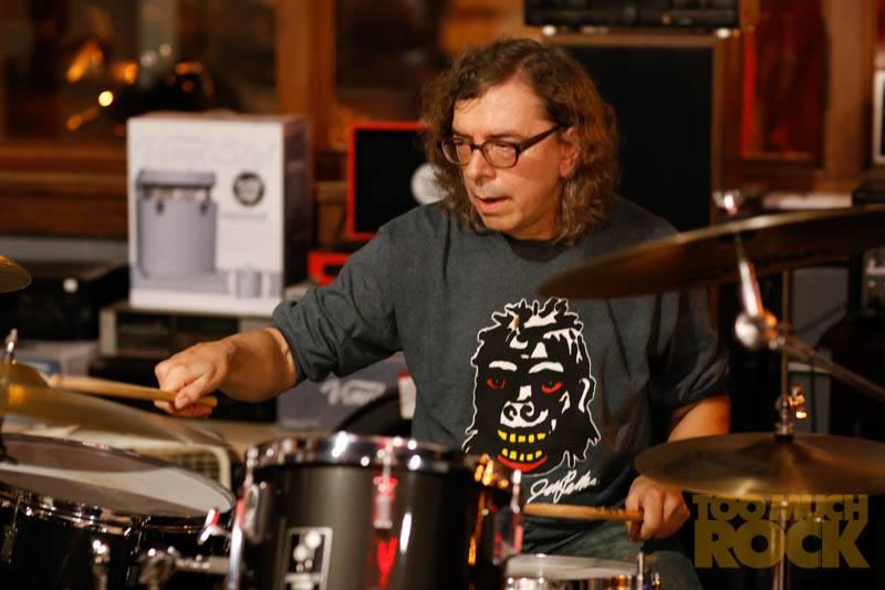Pat at Revolution Records